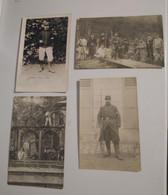 91 Essonne Savigny Lot De 4 Cartes Photos Militaires Militaire Fusils Guerre 14 18 - Savigny Sur Orge