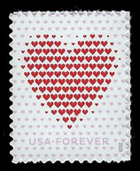 USA, 2020, 5431, Love/Heart, Single, Forever, MNH, VF - Nuevos