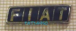LOGO FIAT En Version EPOXY Base Métallisée - Fiat