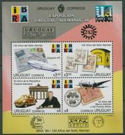 Uruguay 1998 IBRA Deutsche Geschichte U. Ereignisse Block 87 Postfrisch (C94097) - Uruguay