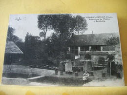 18 5545 CPA 1934 - 18 HENRICHEMONT. FAISEUSES DE MOTTES A BOISBELLE - ANIMATION. - Henrichemont