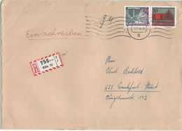 BIG COVER - Germany,registered Koln 1964 - Storia Postale