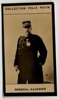 Collection Felix Potin - 1898 - REAL PHOTO - Félix Gustave Saussier, Général Français - Félix Potin