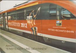 Germany Postcard 2012 Leipzig & Rostock Candidate City - Mint (G123-21) - Estate 2012: London