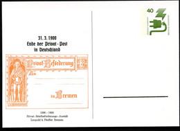 Bund PP69 B2/003 PRIVATPOSTKARTE BREMEN 1896 Bremen 1975  NGK 5,00 € - Private Postcards - Mint