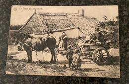 OOSTDUINKERKE - Le Vieux Oostduinkerke - Attelage Paisan  - Gelopen 1914 - Edit. Em. Legein Theyus - Oostduinkerke