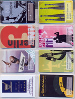 HOTEL : H019 8 HOTEL KEY CARDS AS PICTURED USED - Cartas De Hotels
