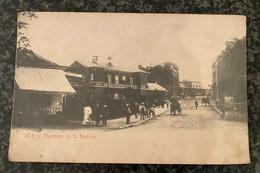 SPA Descente Gare Station Statie Bahnhof - Publ. Chocolat Jos. Bieswal & Cie - Spa