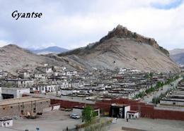 Tibet Gyantse Overview New Postcard - Tibet
