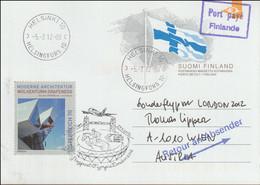 Finland Special Flight From Helsinki Via Vienna To London 2012 Olympic Games (LF16) - Estate 2012: London