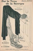 (MONTEL) MONTEL ,par Le Trou De La Serrure  , Paroles PLEBUS , Musique CODINI , Illustration POUSTHOMIS - Spartiti