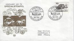 Denmark  1978  Centenary Of Danish Post Office  (o) Mi.603 - Cartas