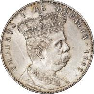 Monnaie, Eritrea, Umberto I, 2 Lire, 1890, Roma, SUP, Argent, KM:3 - Eritrea