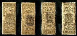 1885 Sellos Para Giro Postal Ex-colonia Española Habilitados CUBA - Telegraph