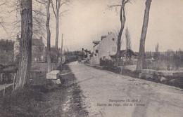 Dampierre ( 78 Yvelines ) Entrée Du Pays, Coté De Cernay - Dampierre En Yvelines