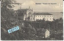 Marche-macerata Convento Dei Cappuccini Veduta Primi 900 (piccolo/v.retro) - Macerata