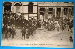 Carte Postale Ancienne- Lens - Les Grèves Du Nord- Congrès Du 20 Mars - Arrestation De Broutchoux - Mijnen