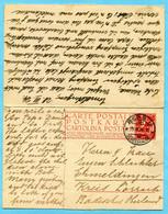 Doppel-Antwort-Postkarte Von Bern Nach Eimeldingen - Retour 1924 - Stamped Stationery