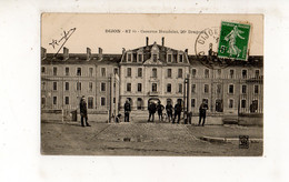 DIJON - Caserne Heudelet, 26e Dragons (carte Animée) - Dijon