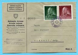 Brief Armekommando - Persönlicher Stab Des Generals Gestempelt Armeestab - Documents