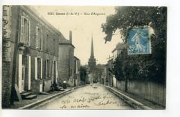 35 GENNES Rue D'Argenté écrite Du Village  Vers 1920   /D03-2017 - Other Municipalities