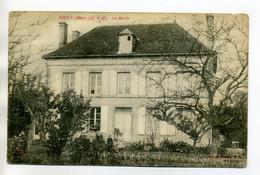 10 POUGY Garconnet Et Fillette Devant La Mairie Du Village 1917 Timb    /D04-2017 - Sonstige Gemeinden