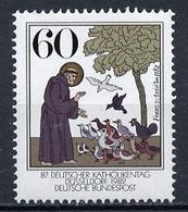 Allemagne Fédérale - Germany - Deutschland 1982 Y&T N°980  - Michel N°1149 *** - 60p Saint François D'Assise - Ungebraucht