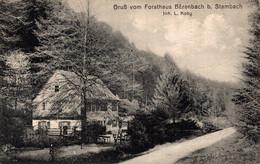 78276- Gruß Vom Forsthaus Bärenbach Bei Stambach Saverne 1916 - Saverne
