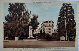 Nancy - Place Godefroy De Bouillon Et Monument Albert 1er - Nancy