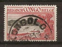 Congo Belge - COB 325 Avec Cachet KONGOLO - Marcophilie - 1947-60: Usati
