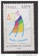 2012-N° 153** CONSEIL DE L'EUROPE. - Mint/Hinged