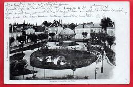 LANGRES - Jardin De Ville - Langres