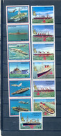 PARAGUAY  2 SETS BOATS MNH - Maritime