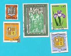 5217  --  ANDORRE  FRANCAIS - Lot De Timbres - Collections
