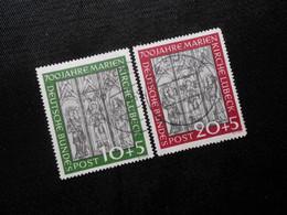D Mi 139/140  BRD  1951 - Mi 160,00 € - Ric - Used Stamps
