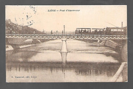 Liège - Pont D'Amercoeur - TRAM - Ed: E. Vannevel - Circulé - Voir 2 Scans - Liège
