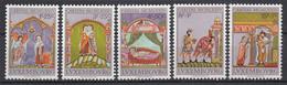 LUXEMBURG - Michel - 1974 - Nr 893/97- MNH** - Nuovi