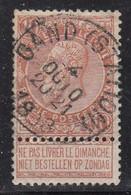 N° 57 OBLITERATION  GAND STATION - 1893-1900 Barba Corta