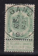 N° 56 OBLITERATION DROITE ET CENTRALE  GAND - 1893-1907 Stemmi