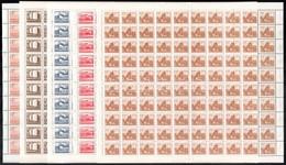 ** 1953 Épületek II. 100 Sor Teljes ívekben (min. 600.000++) - Zonder Classificatie