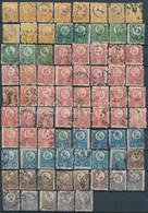 O 1871 Réznyomat 77 Db Bélyeg Sok Szinváltozattal Közte Szép / Olvasható Bélyegzések (~185.000) - Zonder Classificatie