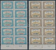 ** 1918 Repülő Posta Sor ívszéli Tízes Tömbökben (150.000++) - Zonder Classificatie