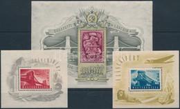 ** 1948-1949 Lánchíd I-II-III Blokkok (150.000) - Zonder Classificatie