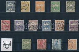 O 1908 Turul Sor 50f Nélkül, 3. Vízjelállás (135.000) - Zonder Classificatie