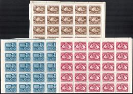 ** 1950 Sakk I. Sor Hajtott ívekben (125.000) (1,60Ft Gumihiba / Gum Disturbance) - Zonder Classificatie