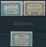 ** 1918 Repülő Posta Sor + 1,50K Fordított Felülnyomással (265.000) (garancia Nélkül / No Guarantee) - Zonder Classificatie