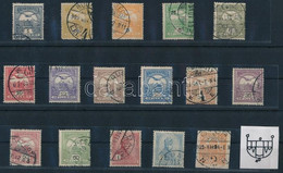 O 1908 Turul Sor, 4. Vízjelállás (108.000) - Zonder Classificatie