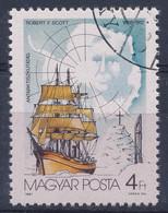 O 1987 Antarktiszkutatás 4Ft R. F. Scott Hiányos Fekete Színnyomattal - Zonder Classificatie