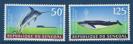 "Senegal Aerien YT 121 & 122 (PA) "" Poissons "" 1972 Neuf** - Senegal (1960-...)"