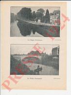 4 Vues Pont & Digue Perronnet Nogent Sur Seine Trudaine + Bureau Des Réfugiés Place Du Marché Au Pain Troyes  250/1 - Unclassified